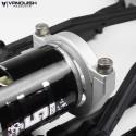 Platine Support moteur  alu Noir pour Yéti  - Vanquish