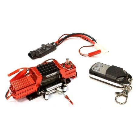 Treuil Realistic métal rouge T7 Mega torque avec télécommande Integy