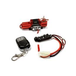 Treuil avec télécommande Silver Méga Réalistic T8 scale crawler 1/10e Integy