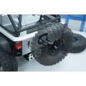 Support roue de secours scale crawler 1/10e métal noir  Yeah Racing