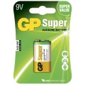 Pile GP Super Alcaline 9V-pile, 1604A/6LF22 (1)