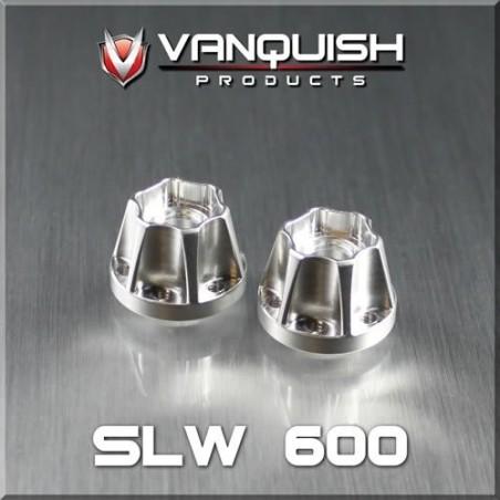 Hexagone alu Hub SLW 600 epaisseur 15.2mm Vanquish VPS01039