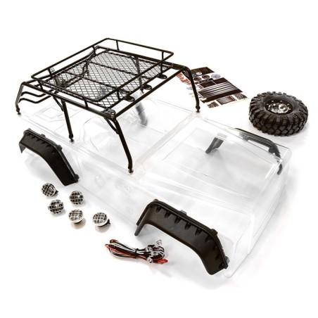 Carrosserie JPX scale avec arceau et roue de secours Integy