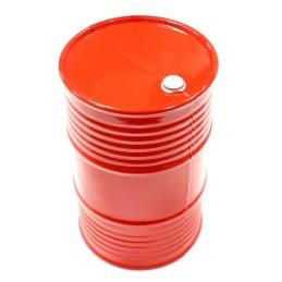 Tonneau plastique Rouge Realistic Integy