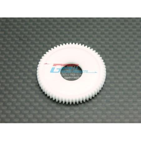 Couronne moteur plastique 60T pour Losi MRC - GPMRacing
