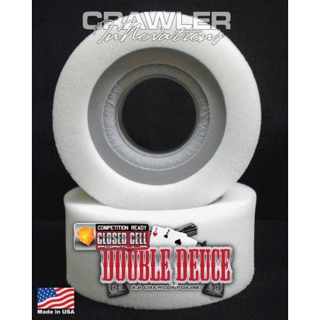 Mousse pour pneu 2.2 Double Deuce en 6.0 Comp Cut inner/ soft outer Crawler Innovations