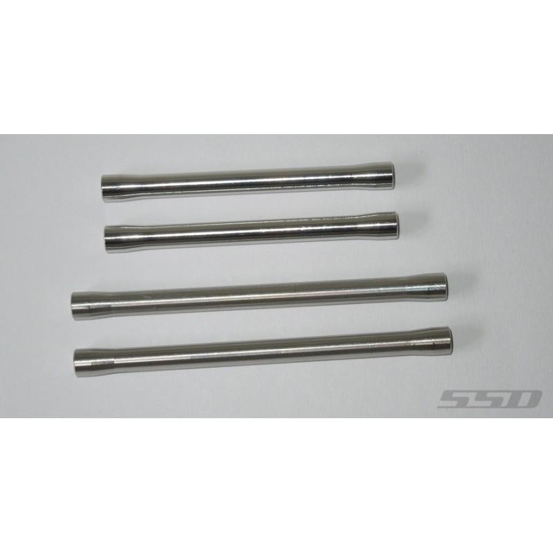 Liens inférieurs titane pour SCX10-II  SSD