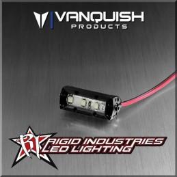 Barre de leds rigide 1'' aluminium Noir 35mm Vanquish