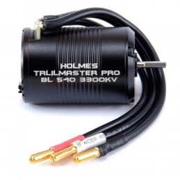 Moteur brushless Trailmaster Pro BL 540 3300 KV  Holmes Hobbies