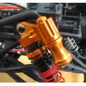 Amortisseurs Boomerang™ Type PB Race Ready Aluminum Double Suspension Adjustable Piggyback Shocks 95MM Silver Boomracing