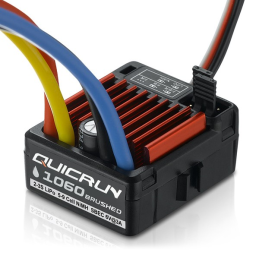 Variateur Hobbywing Quicrun 1060 60A waterproof pour moteur a charbons