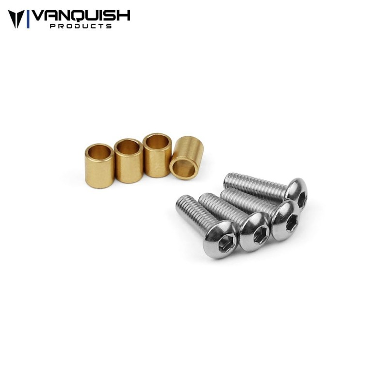 Entretoises SCX10-II Knuckle Bushings Vanquish (4)