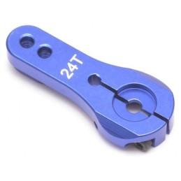 Palonnier alu Bleu 24T Hitec BoomRacing