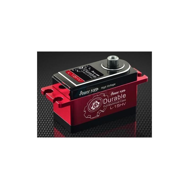 Servo Power HD Digital 15kg /0.08s On road Low Profile HV pour 1/10e