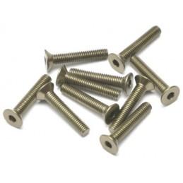 Vis aluminium 7075 M3 x16 Titane BoomRacing ( 10 )