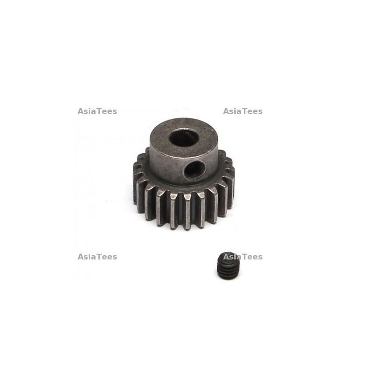 Pignion métal 21T / 32P axe de 5mm BoomRacing