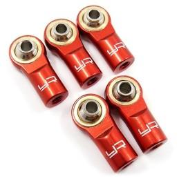 Chapes aluminium rouge M3 Yeah Racing