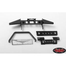 Pare choc avant Metal noir w/Stinger pour Gelande II D90/D110 RC4WD