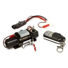 Treuil Realistic métal Noir T7 Mega torque avec télécommande Integy
