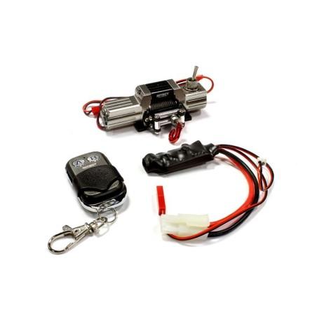 Treuil avec télécommande Gun Méga Réalistic T8 scale crawler 1/10e Integy