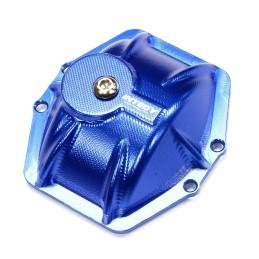 Capot de différentiel T6 alu Bleu pour AR60 Wraith / Ridgecrest Integy