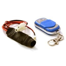 Systeme de télécommande bleu  pour treuil Integy