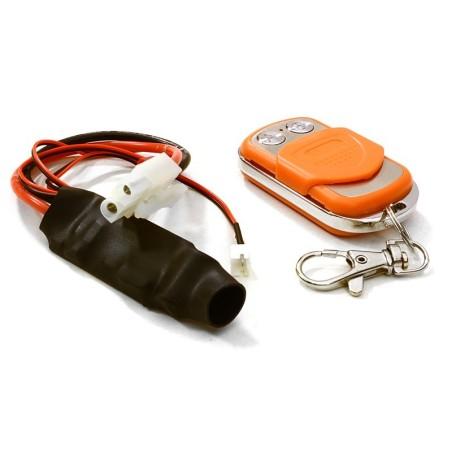 Systeme de télécommande Orange  pour treuil Integy
