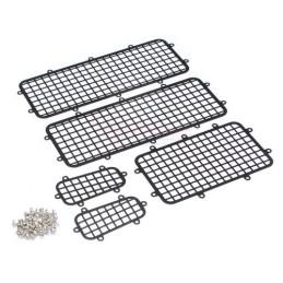 Protection de vitre grilles métal pour TRX-4  Team Raffee