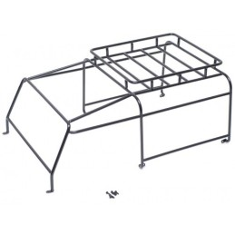 Arceau cage létal avec galerie pour Defender D90 Team Raffee