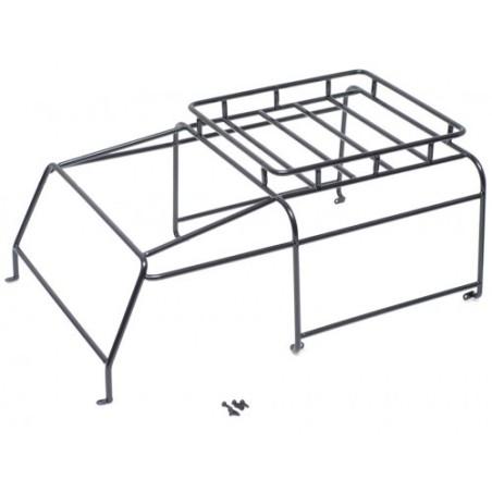 Arceau cage métal avec galerie pour Defender D90 Team Raffee