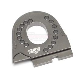 Support moteur alu Gun Metal pour TRX-4 Team Raffee