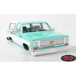 Carrosserie Chevrolet Blazer Abs Peinte vert  RC4WD