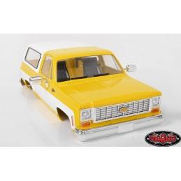 Carrosserie Chevrolet Blazer Abs Peinte Jaune  RC4WD