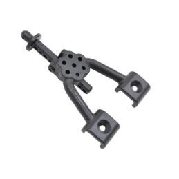 Supports amortisseurs arrières  plastiques noirs pour SCX10 RPM 70702