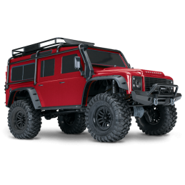 Traxxas TRx-4  Defender  RTR rouge  82056-4