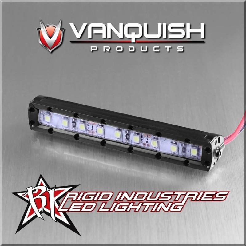 Barre de leds rigide aluminium noir 7.5 cm Vanquish