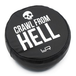 Housse de roue de secours pour 1/10e taille 1.9 Crawl from hell  Yeah Racing