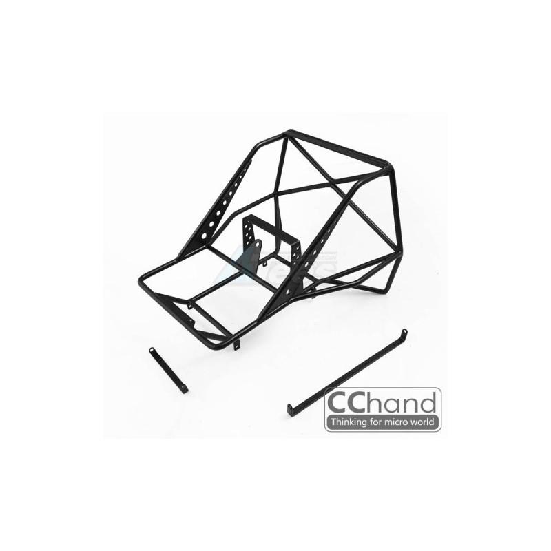 Arceaux arrière métal pour carrosserie Hilux  SCX10 et SCX10 II CChand BoomRacing