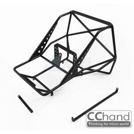 Arceaux cage arrière métal pour carrosserie Hilux  SCX10 et SCX10 II CChand BoomRacing