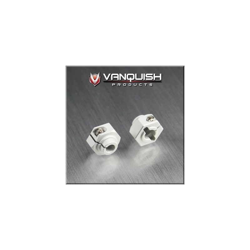 Hexagone alu 12mm Silver Vanquish