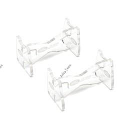 Stand plastique transparent D90 /D110 Atees et land rover Team Raffee