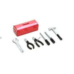 Caisse à outils scale avec accessoire Noir BoomRacing