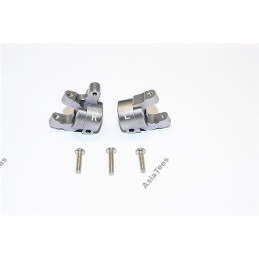 Porte fusée C hubs Aluminium Gris pour SCX10-II   GPM