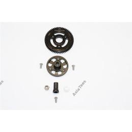 Couronne métal avec support alu pour SCX10-II version RTR  GPM