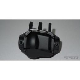Capot de pont métal Noir  Pro 44 HD pour scx10-II SSD