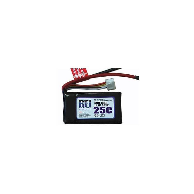Batterie Lipo 3S 11.1v 800MAH prise dean RFI power