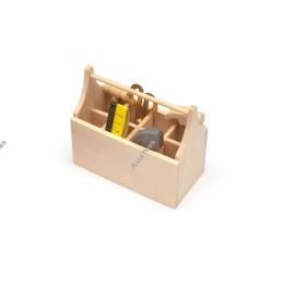 Caisse a outils bois déco realistic Team Raffee