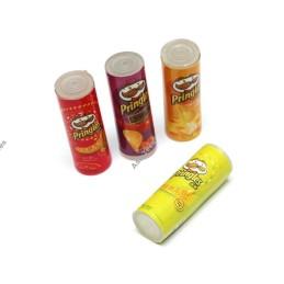 Boites de crispy chips déco Team Raffee