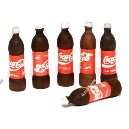 Bouteilles de coca Team Raffee (6)