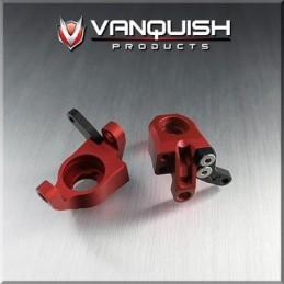 Fusée avant alu Rouge pour Axial Wraith-Vanquish